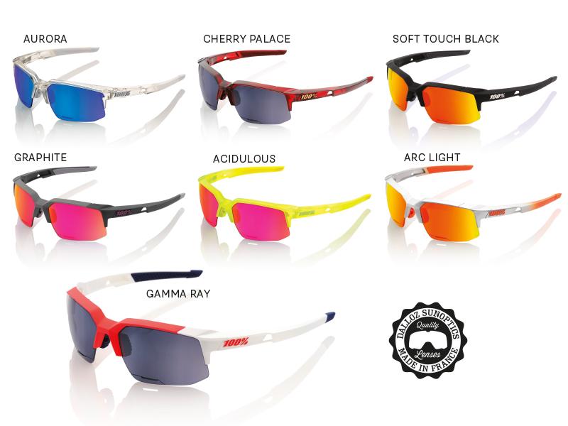 100% Speedcoupe Sunglasses soft touch black (STD) mirror lens jeS1wo